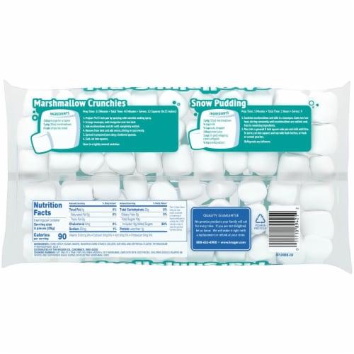 Kroger® Marshmallows Bag Perspective: back