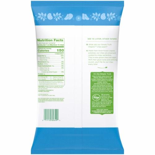 Simple Truth Organic™ Sea Salt Potato Chips Perspective: back