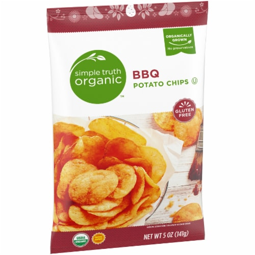 Simple Truth Organic™ BBQ Potato Chips Perspective: back