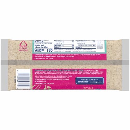 Kroger® Enriched Medium Grain Rice Perspective: back