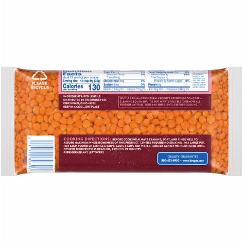 Kroger® Red Lentils Perspective: back