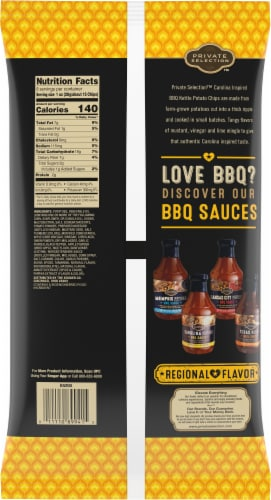 Private Selection™ Carolina BBQ Kettle Chips Perspective: back