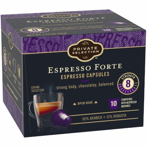 Private Selection™ Espresso Forte Capsules Perspective: back