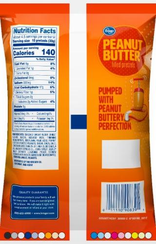 Kroger® Peanut Butter Filled Pretzels Perspective: back
