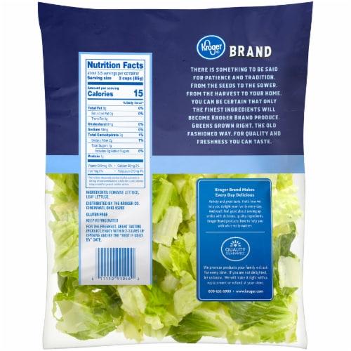 Kroger® Leafy Romaine Salad Perspective: back