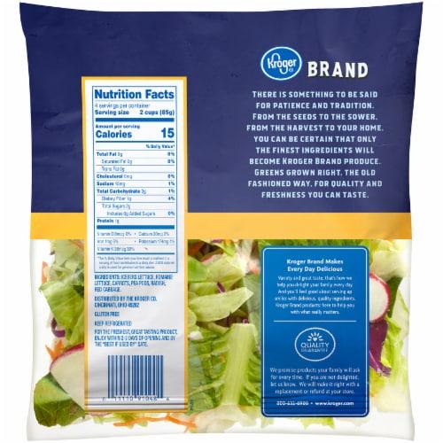 Kroger® Veggie Blend Salad Perspective: back