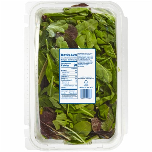 Kroger® Baby Spring Mix Perspective: back