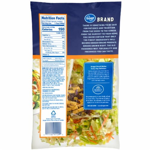 Kroger® Southwest Style Chopped Salad Kit Perspective: back
