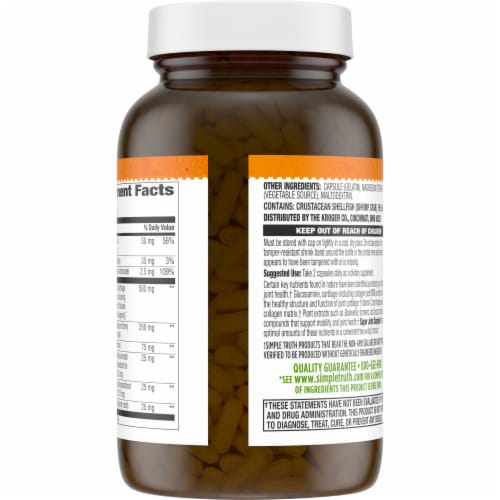 Simple Truth® Super Joint Complex Capsules 120 Count Perspective: back