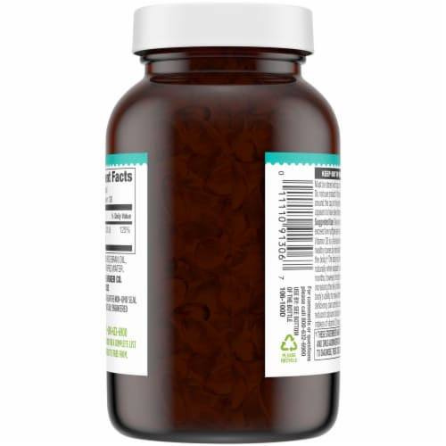 Simple Truth® Vitamin D3 Softgels 1000 IU Perspective: back