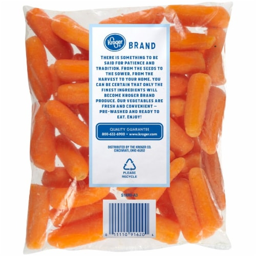 Kroger® Cut & Peeled Baby Carrots Perspective: back