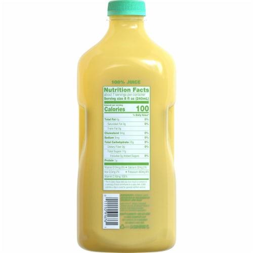 Simple Truth® 100% Cold Pressed Orange Juice Perspective: back