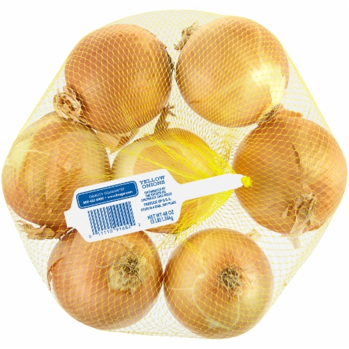 Kroger® Yellow Onions Perspective: back