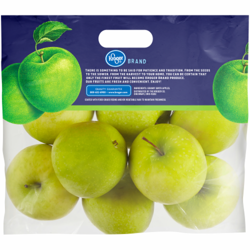 Kroger® Green Granny Smith Apples Pouch Perspective: back