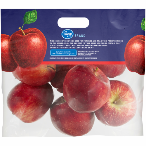 Kroger® Red Delicious Apples Perspective: back
