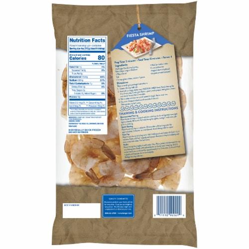 Kroger® Shell-On Easy Peel Large Raw Shrimp Perspective: back