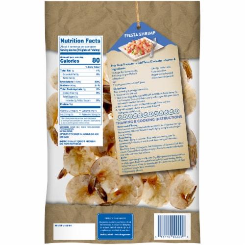 Kroger® Shell-On Easy Peel Extra Large Raw Shrimp Perspective: back