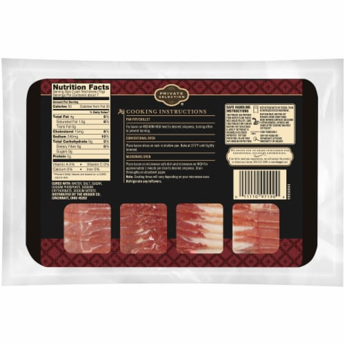 Private Selection® Center Cut Bacon Perspective: back
