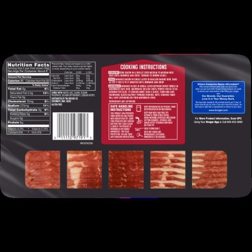 Kroger® Naturally Hardwood Smoked Bacon Perspective: back