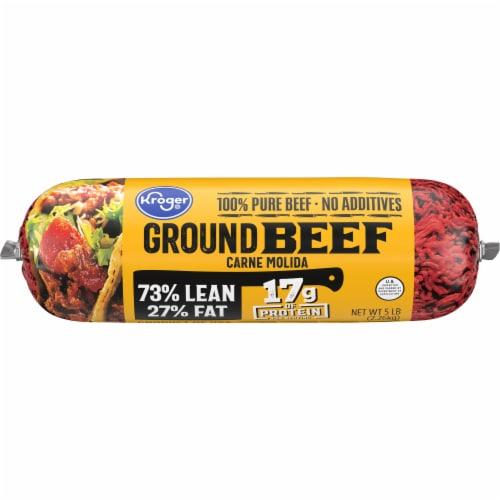 Kroger® 73% Lean Ground Beef Perspective: back