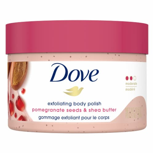 Dove Pomegranate Seeds & Shea Butter Exfoliating Body Polish Perspective: back