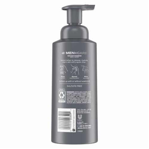Dove Men + Care Clean Comfort Nutrium Moisture Foaming Body Wash Perspective: back