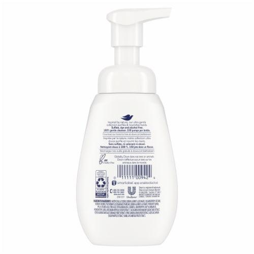 Dove Sugar Cane & Warm Vanilla Foaming Hand Wash Perspective: back