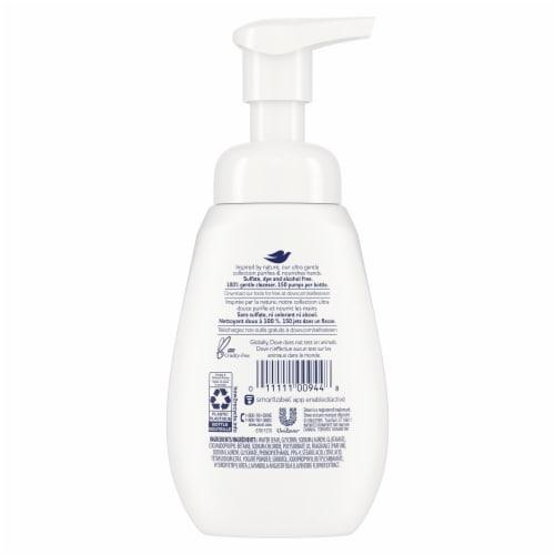 Dove Lavender & Yogurt Foaming Hand Soap Perspective: back