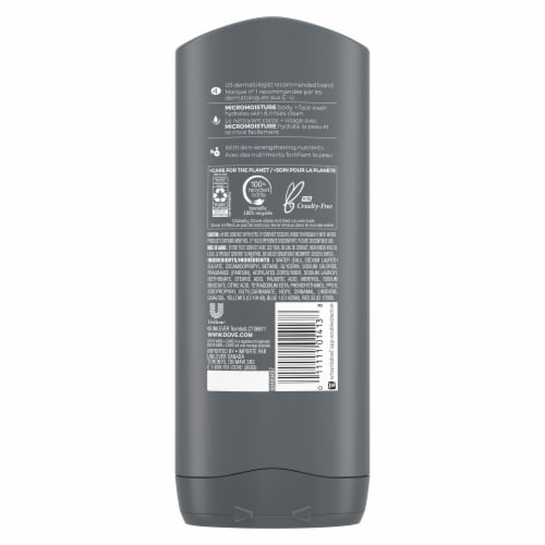 Dove Men+Care Extra Fresh Micro Moisture Body Wash Perspective: back