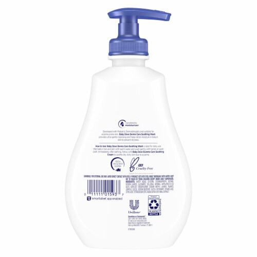 Baby Dove Eczema Care Soothing Wash Perspective: back