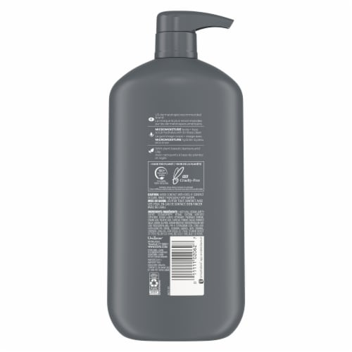 Dove Men + Care Charcoal + Clay Body + Face Scrub Perspective: back