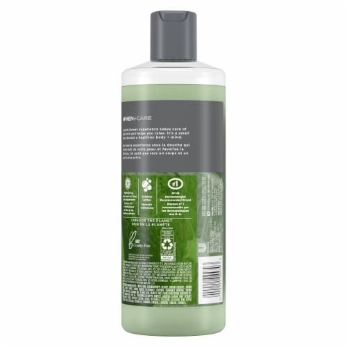 Dove Men+Care Reinvigorating Lime + Avocado Oil Hydrating Body Wash Perspective: back