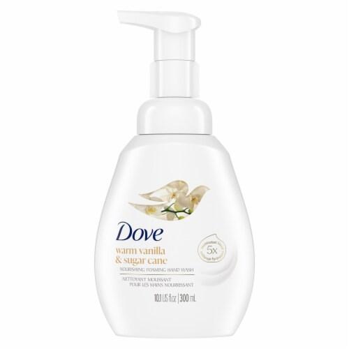 Dove Warm Vanilla and Sugar Cane Hand Wash Perspective: back
