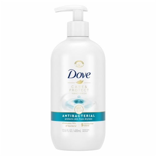 Dove Protect & Care Liquid Hand Wash Perspective: back