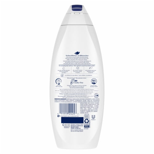Dove Deep Moisture Nourishing Body Wash Perspective: back