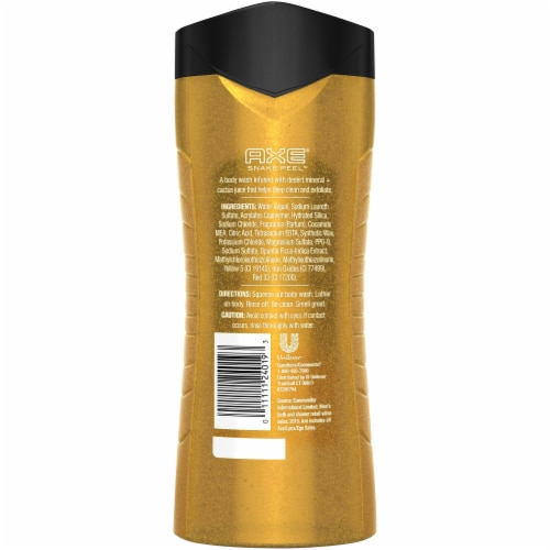 Axe Clean + Fresh Snake Peel 2 in 1 Exfoliating Body & Face Wash Perspective: back