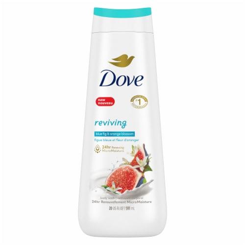 Dove Go Fresh Blue Fig & Orange Blossom Scent Body Wash Perspective: back