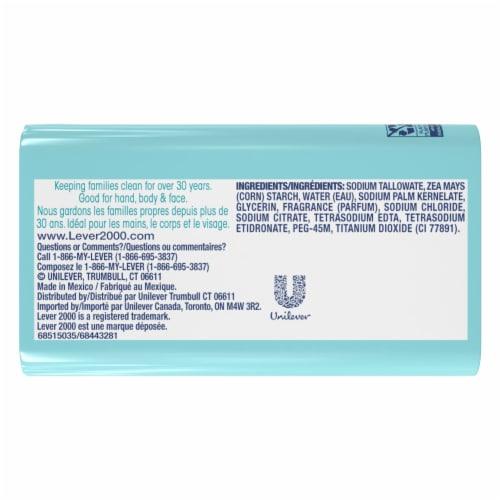 Lever 2000® Original Bar Soap Perspective: back