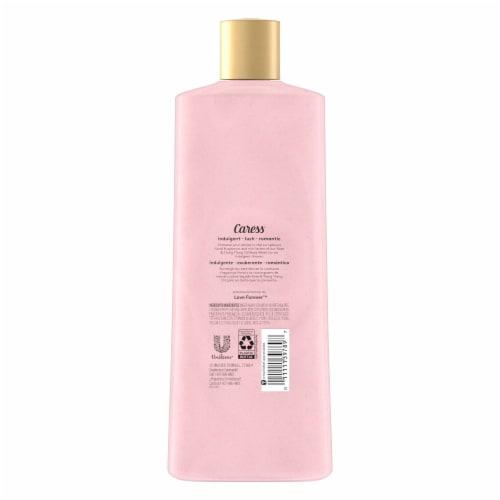 Caress Daily Silk White Peach & Orange Blossom Body Wash Perspective: back