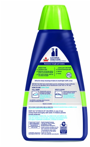 Bissell® Spotclean Pet Stain and Odor Carpet Cleaning Formula Perspective: back