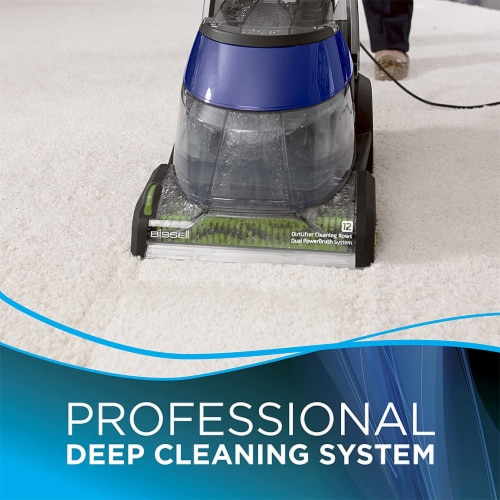 Bissell 36Z9 DeepClean Deluxe Pet Full Size Upright Carpet Cleaner and Shampooer Perspective: back