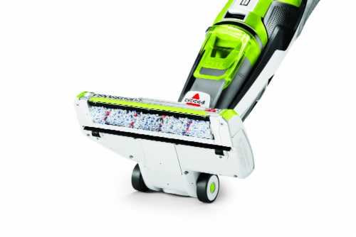 Bissell® CrossWave® Green & Black All-in-One Multi-Surface Wet Dry Vacuum Perspective: back
