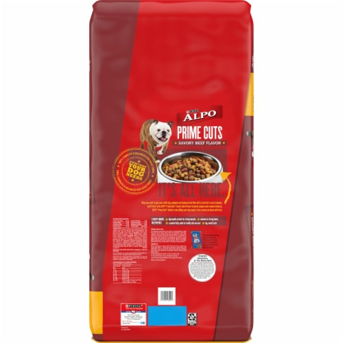 ALPO® Prime Cuts Savory Beef Flavor Dry Dog Food Perspective: back