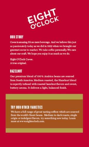 Eight O'Clock® Hazelnut Medium Roast Ground Coffee Perspective: back