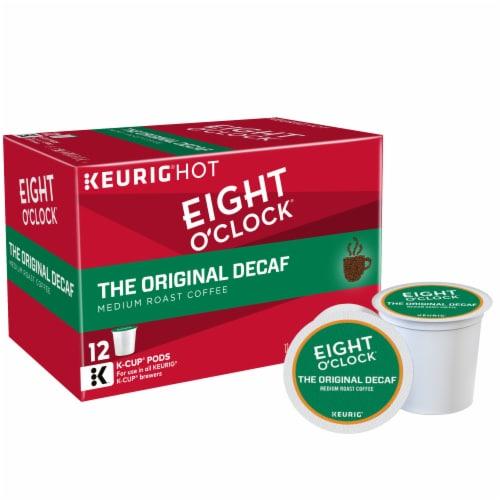 Eight O'Clock® The Original Decaf Medium Roast Coffee K-Cup Pods Perspective: back