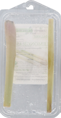 Roundy's Organics Lemon Grass Perspective: back