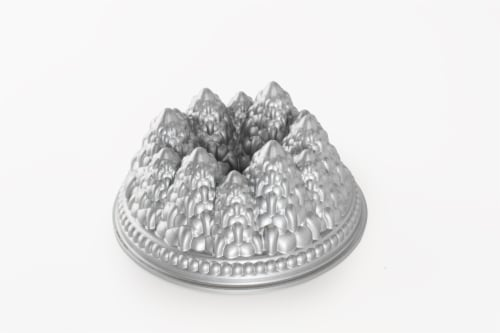 Nordic Ware Pine Forest Pan - Platinum Perspective: back