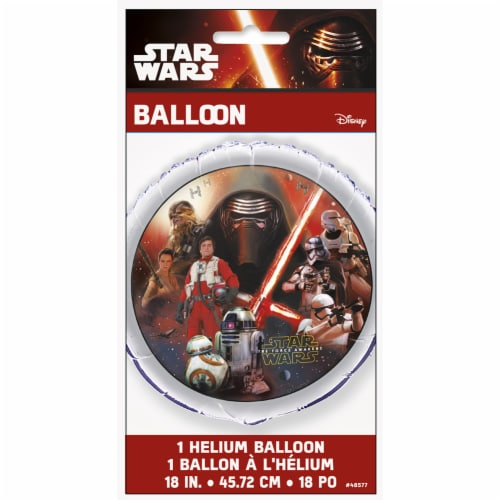Star Wars The Force Awakens 18 Inches Foil Balloon Perspective: back