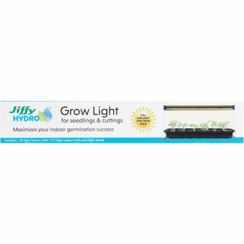 Jiffy 2 Ft. Silver 48W Fluorescent Plant Lamp KLIGHT-9 Perspective: back