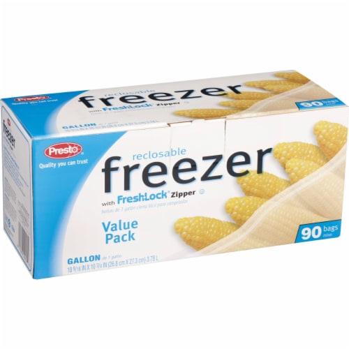 Presto 1 Gal. Reclosable Freezer Bag (90 Count) C00482S0 Perspective: back